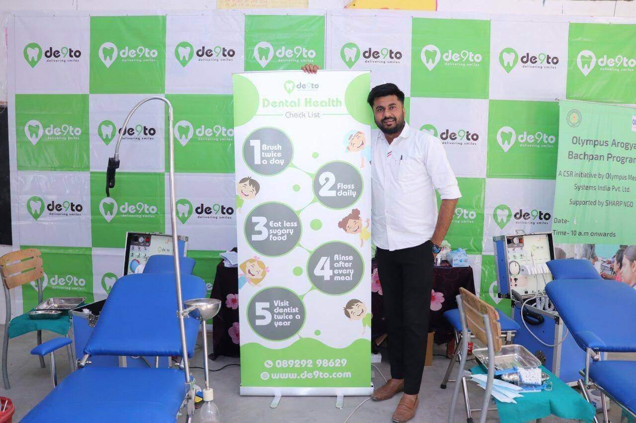 Dental Camps & Dental Checkups by De9to